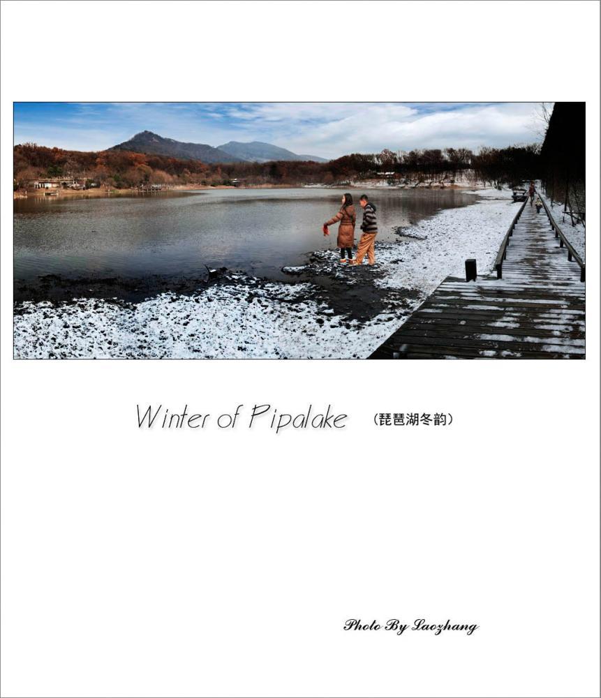 琵琶湖冬韵