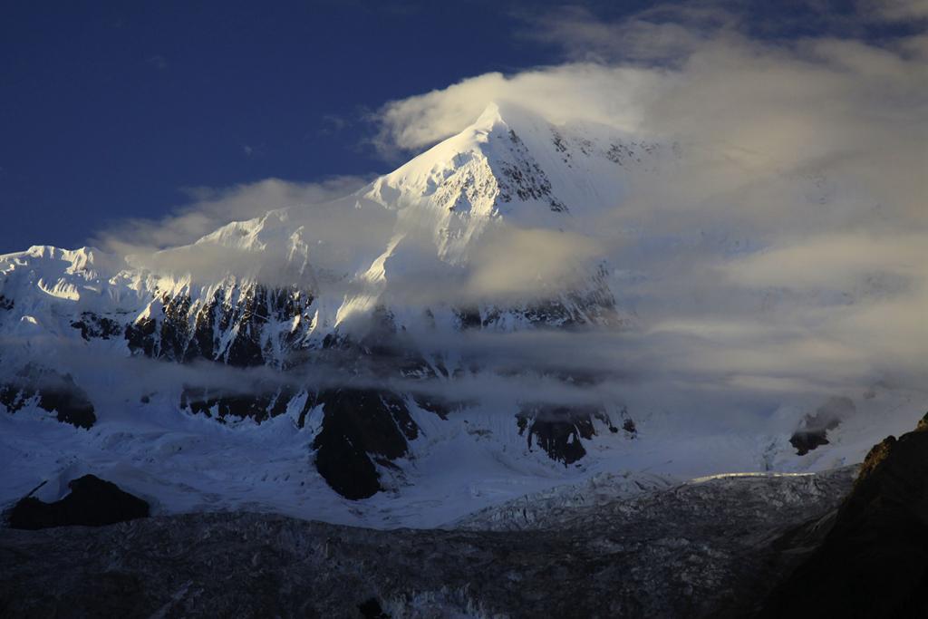 最美的冰川——米堆冰川 _ 自然风景 _ 中国风景摄影